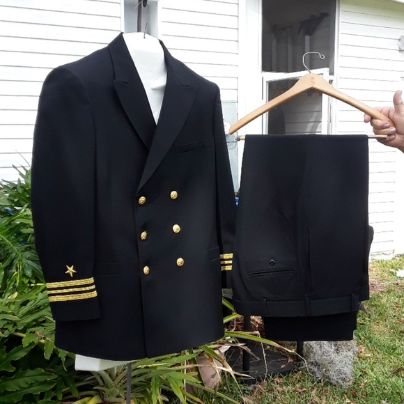 Lt. Commander Line Officer Coral Class A Uniform